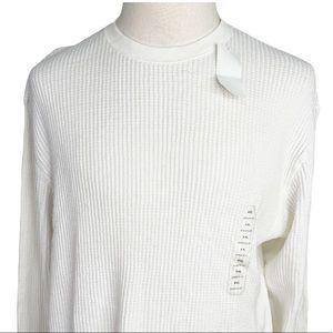 Gap white athletic fit Men's Top Sweater XXL